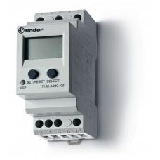 Универсальное контрольное реле тока для 1-фазных сетей AC/DC; пониженый/повышенный ток;память отказов; выход 1CO 10А;