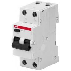 Выключатель автоматический дифференциального тока, 1P+N, 10А, C, 4.5kA, 30мA, AC, BMR415C10