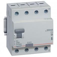 Выключатель дифференциально тока RX3 ВДТ 300мА 25А 4П AC
