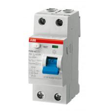 Выключатель дифференциального тока 2мод. F202 AC-40/0,03