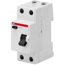 Выключатель дифференциального тока 2P, 25A, 100мA, AC, BMF42225